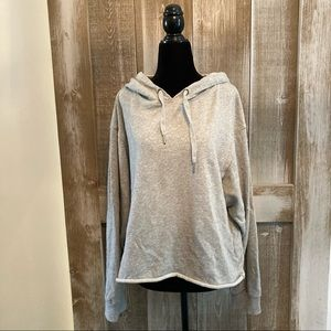 Z Supply, Grey hoodie size Large